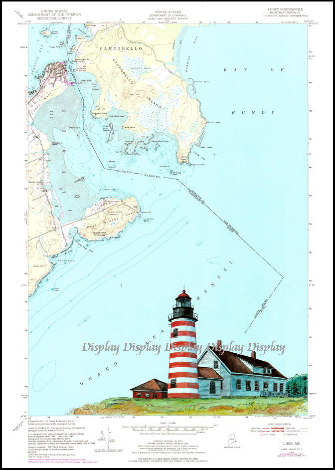 WEST QUODDY HEAD LIGHTHOUSE, Lubec